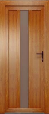 Drzwi DAKO z czytnikiem linii papilarnych oraz zaawansowanym zamkiem EAV od firmy Winkhaus