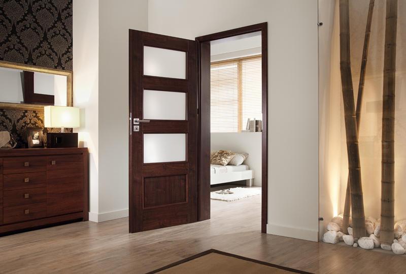 Idealnie dobrane drzwi zapraszają do wnętrza