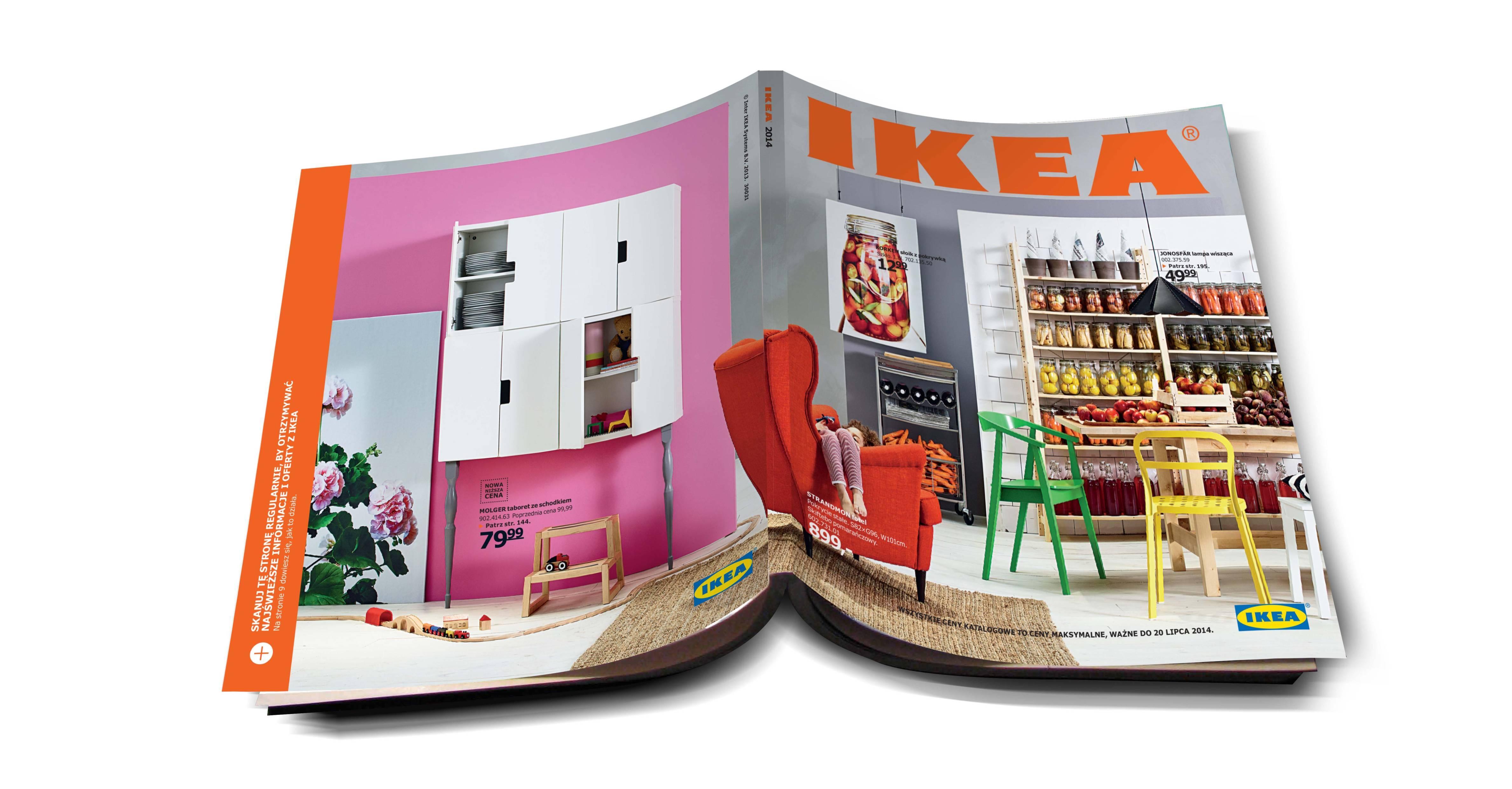Liczy się każda chwila spędzona razem z dziećmi w domu Katalog IKEA 2014