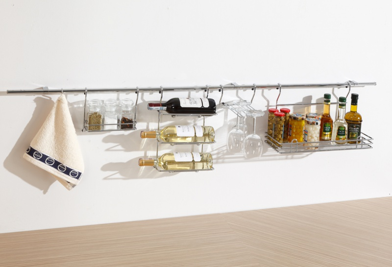 Akcesoria meblowe w małej kuchni