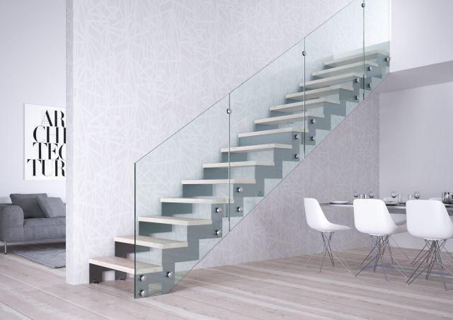 Aranżujemy schody w małym wnętrzu