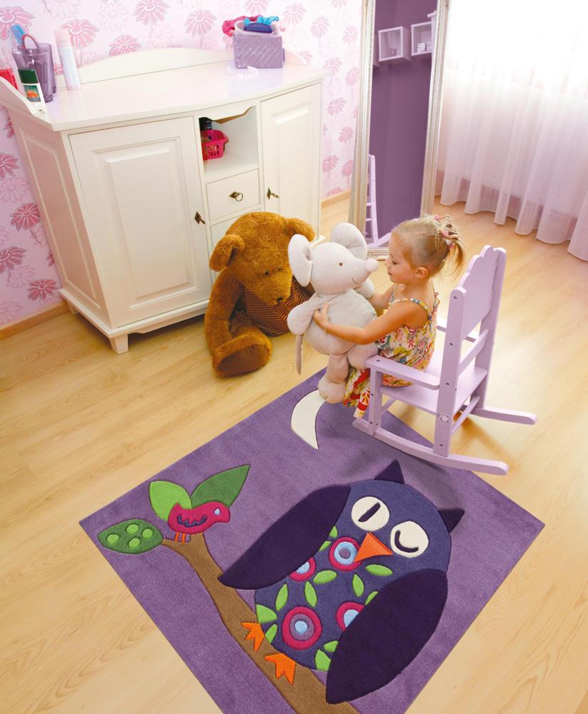 Leśne inspiracje w pokoju dziecka