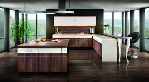 Kuchnia zafascynowana drewnem