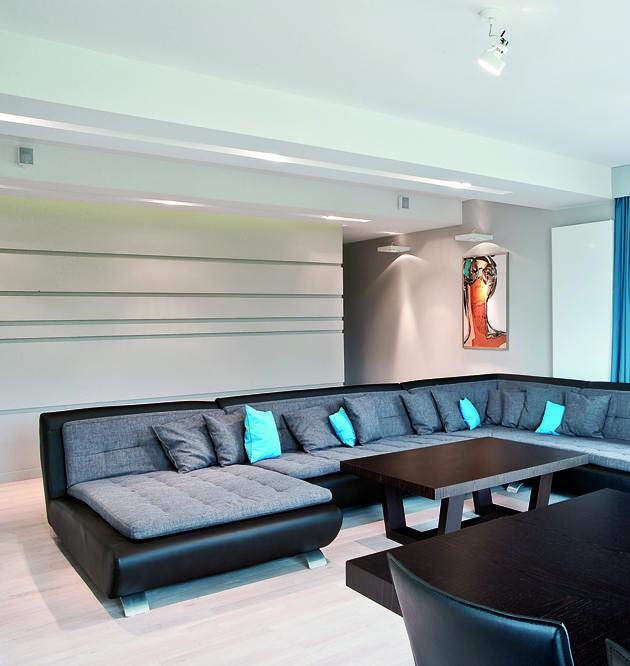 Modernistyczne wnętrze