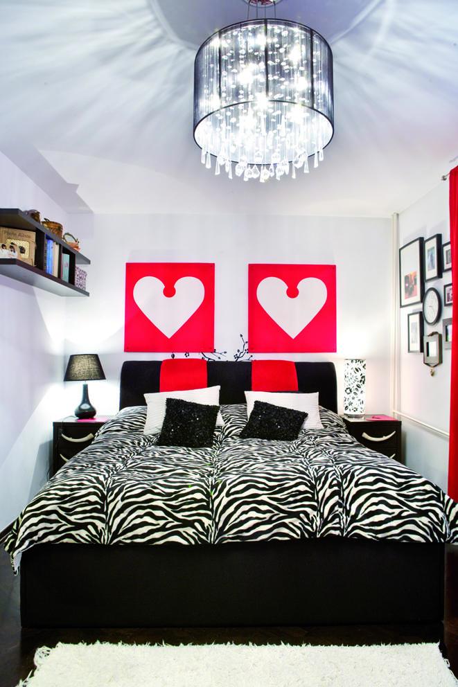 40m2 pełnych inspiracji - mieszkanie w neonowych kolorach