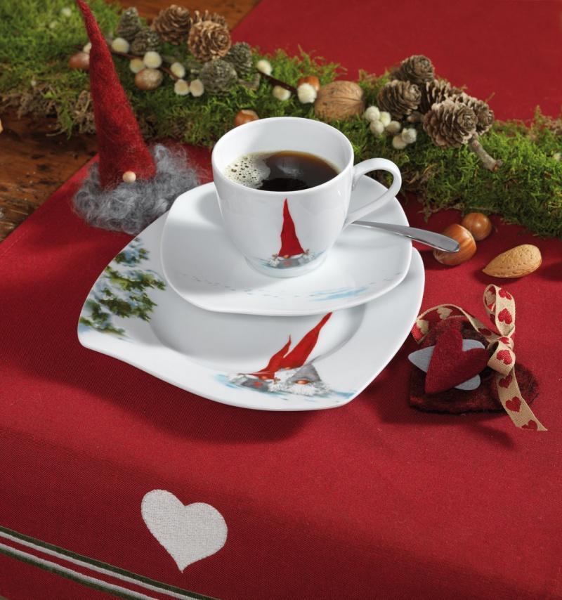 Bajkowe Boże Narodzenie - świąteczne nakrycie stołu