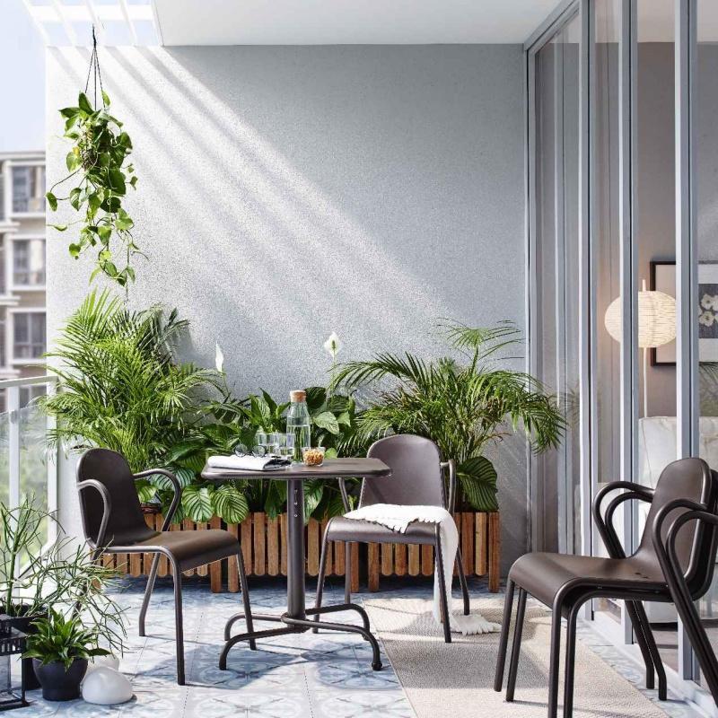 Balkon Kawałek Ogrodu W Każdym Domu Wnętrze I Ogród