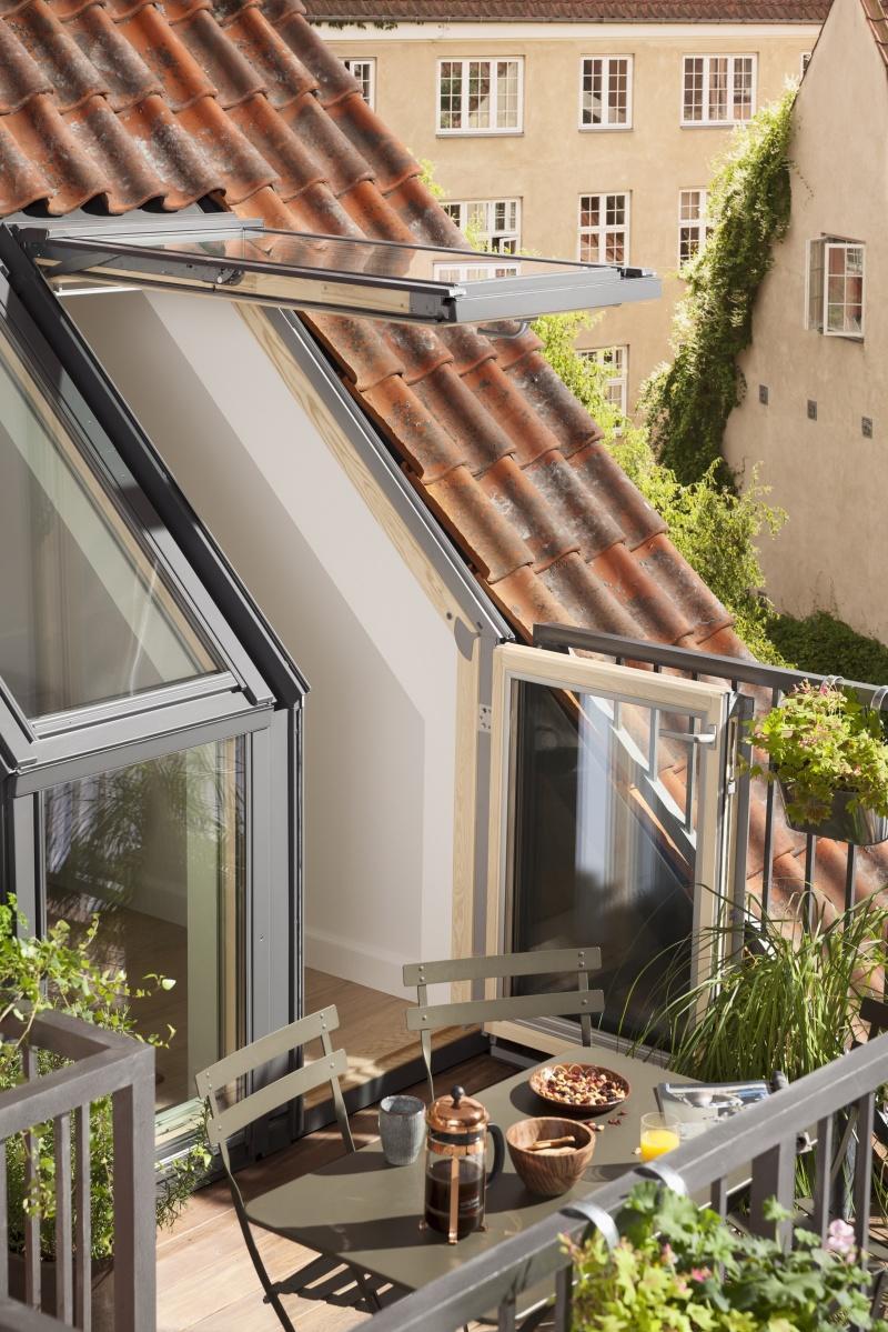 Balkon na każdym poddaszu – czy to możliwe?