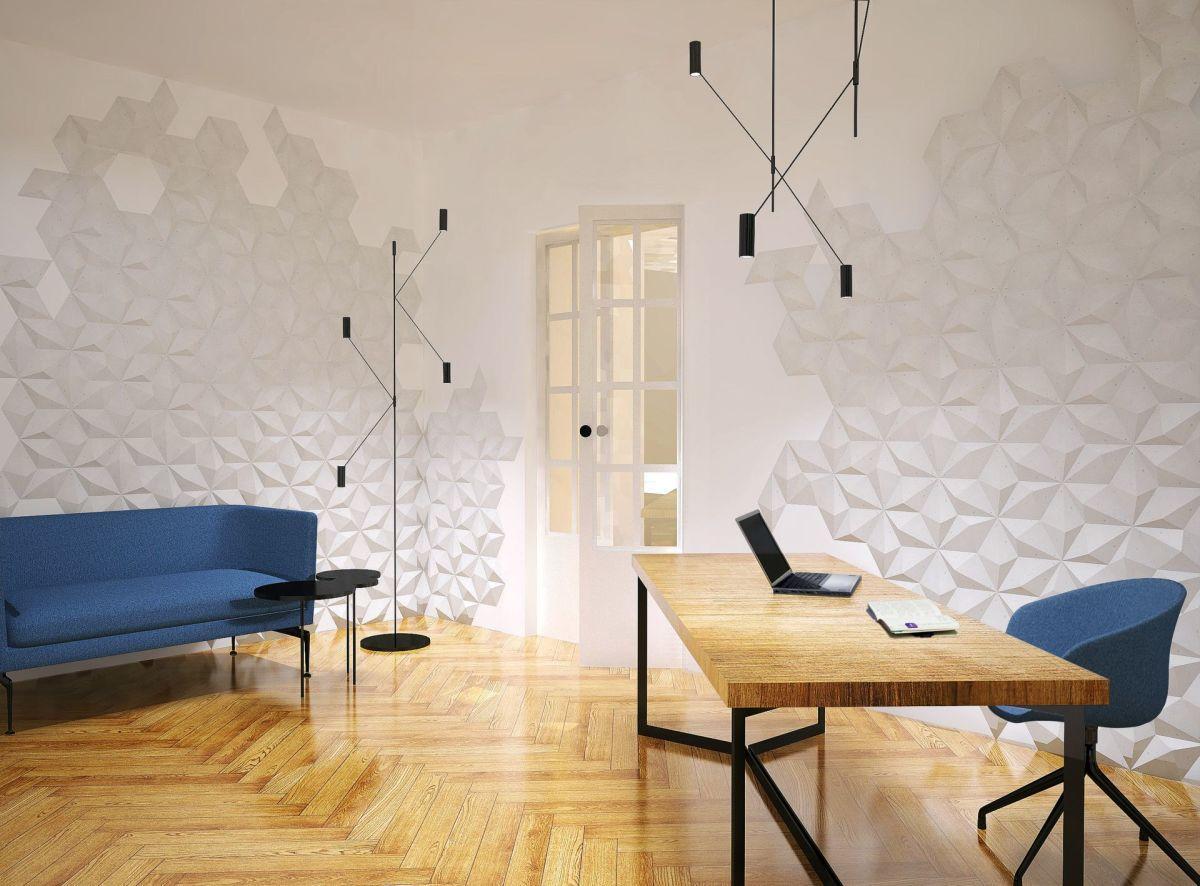 Nowy trend na ścianę od Kliniki Betonu