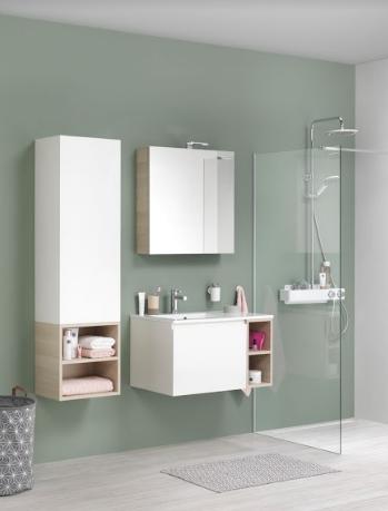 Czy otwarte półki w łazience mogą być praktyczne?