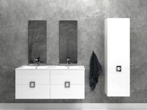 Kolekcja mebli łazienkowych LINES | Defra