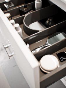 Organizer doszuflad mebli łazienkowych Defra