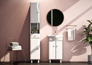 Kolekcja mebli łazienkowych ALESIA | Defra