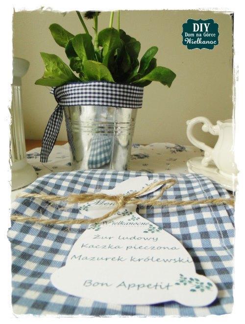 DIY Wielkanocne menu