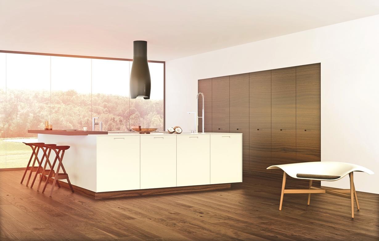 Dyskretna elegancja – okap kuchenny Hydria Ciarko Design