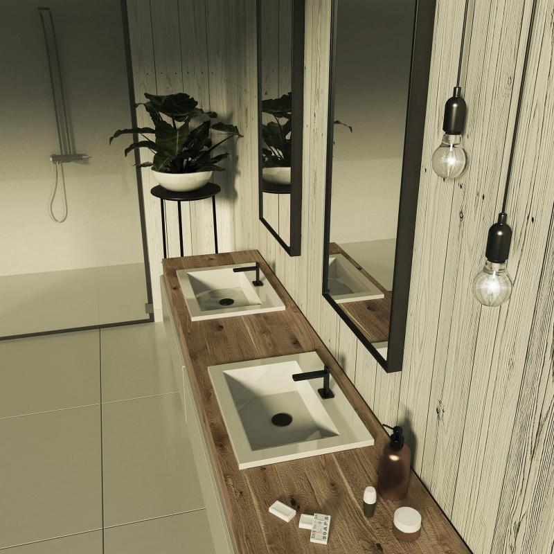 Dzięki temu sprzątanie łazienki potrwa krócej