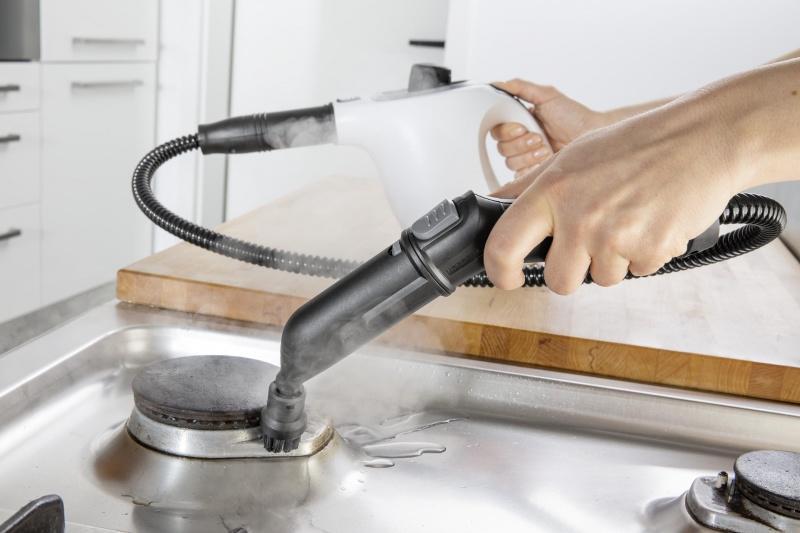 Higieniczne i ekologiczne czyszczenie gorąca parą z Kärcher!