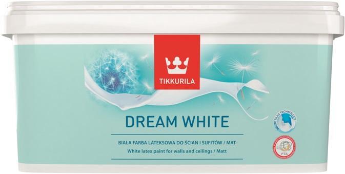 Idealna biel dzięki nowej farbie Tikkurila Dream White
