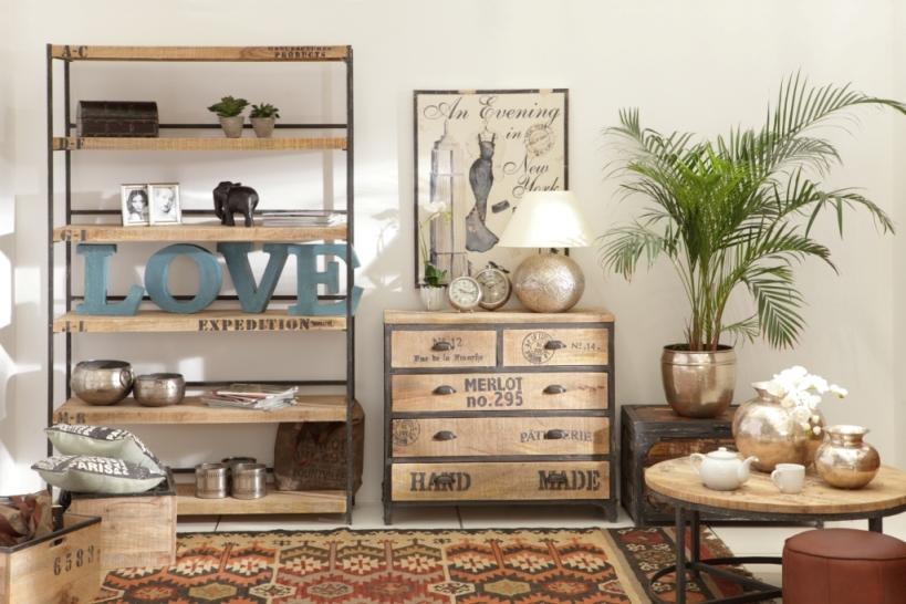 Industrialny klimat w nowej kolekcji Sharda Home
