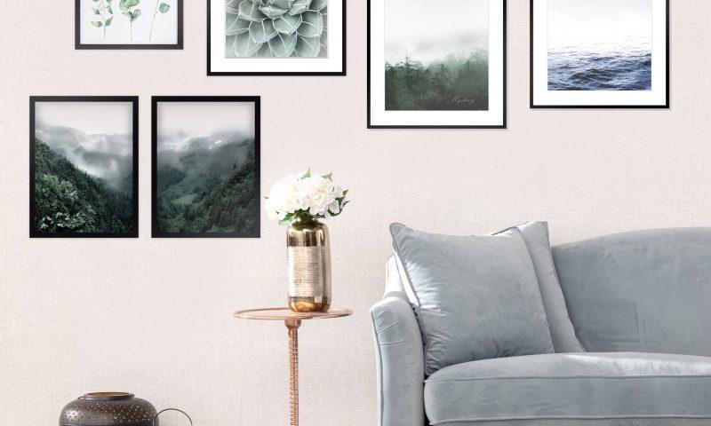 Dekoria.pl, obrazy Mystery, Succulent, stolik Orpin Coppe, lampiony Nadia