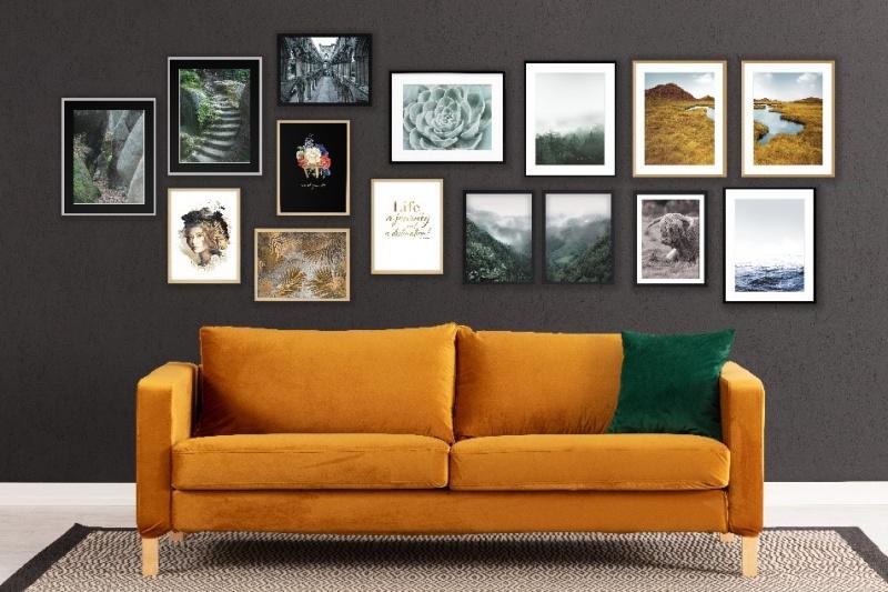 Jak stworzyć własną galerię na ścianie?