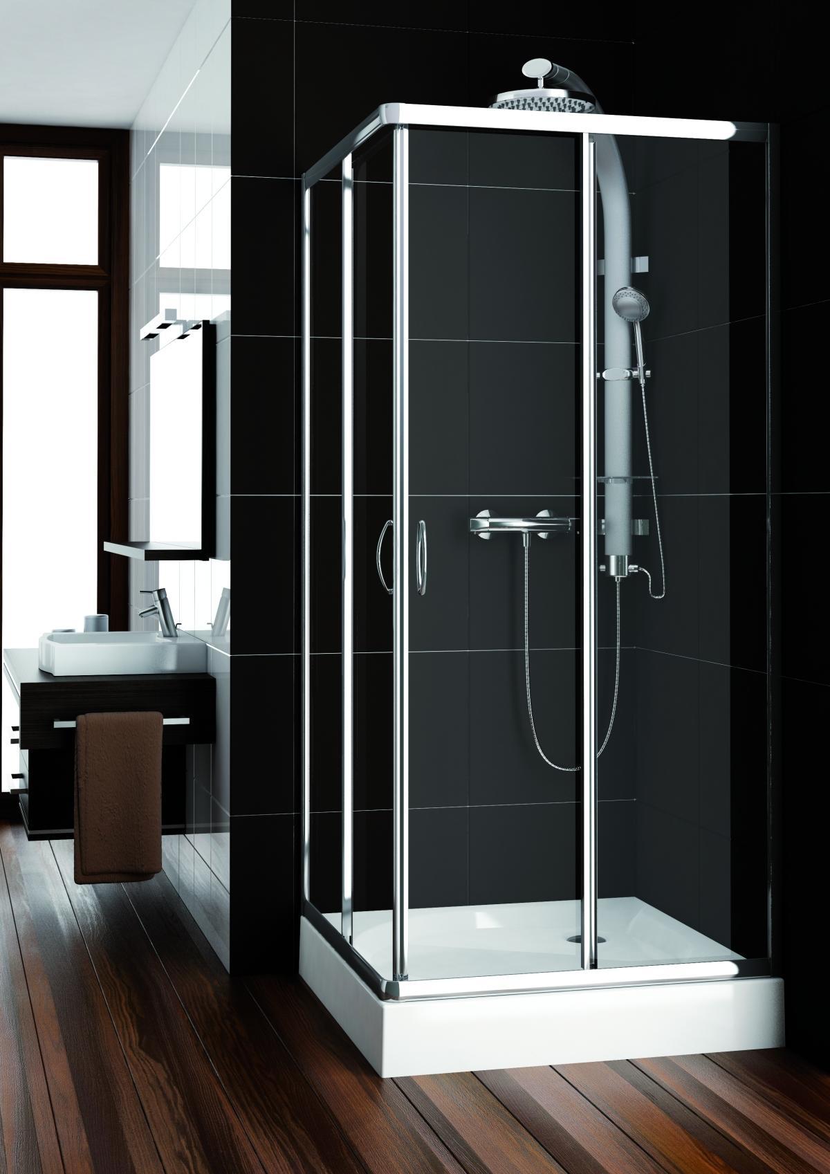 Kabina prysznicowa Nigra – surowy design w trzech wariantach