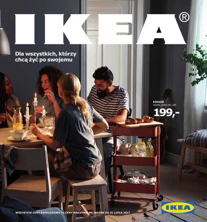 Katalog Ikea 2017 Dla Wszystkich Którzy Chcą żyć Po