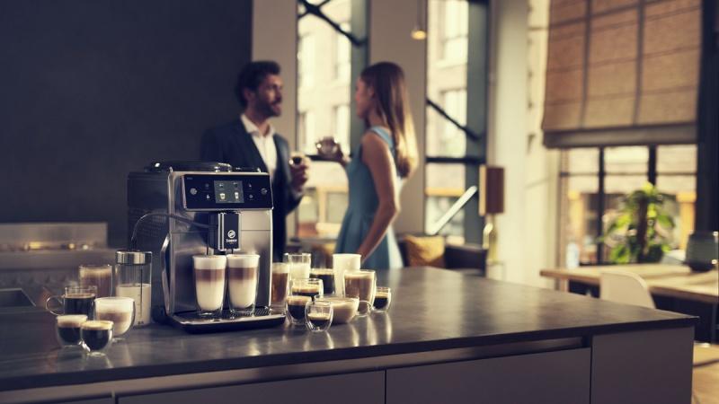 Kawa z mlekiem lub bez