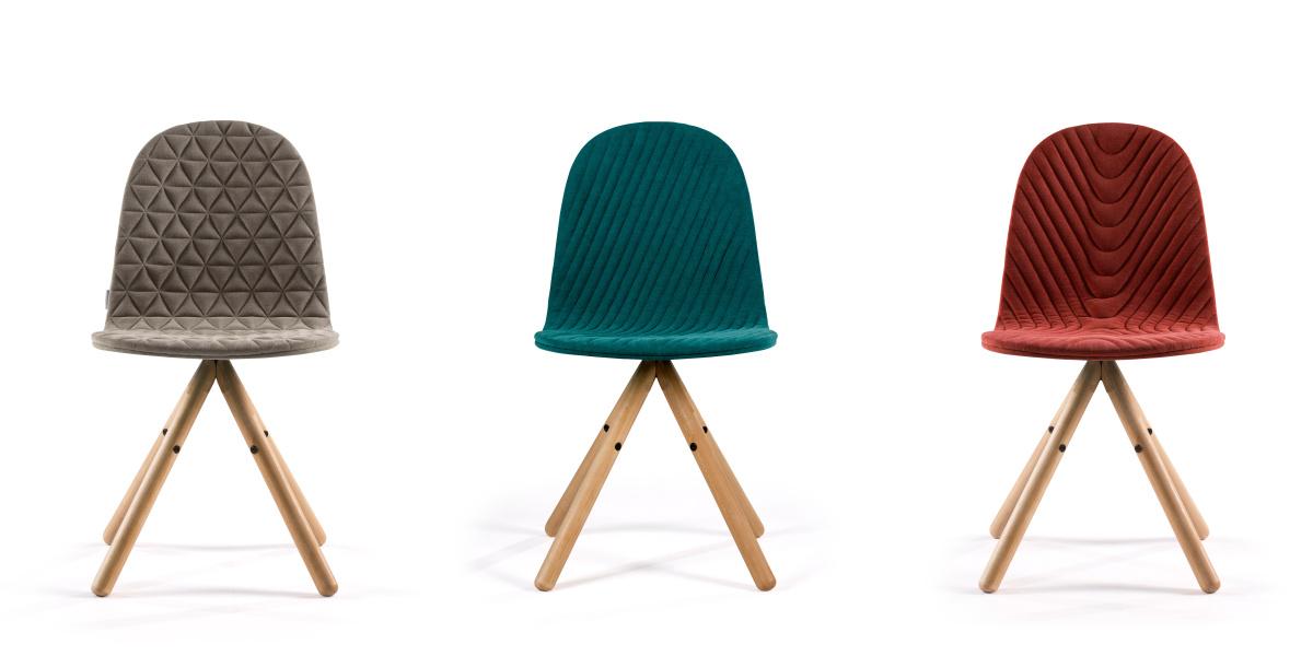 """Kolekcja krzeseł """"Mannequin"""" projektu WertelOberfell Studio"""