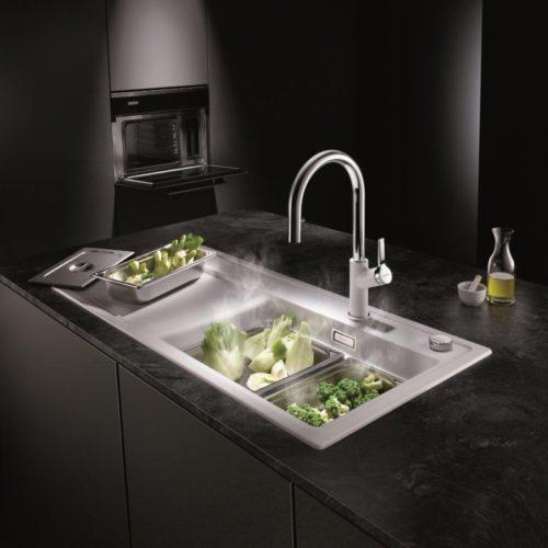 Blanco Steamer System Plus mat. COMITOR