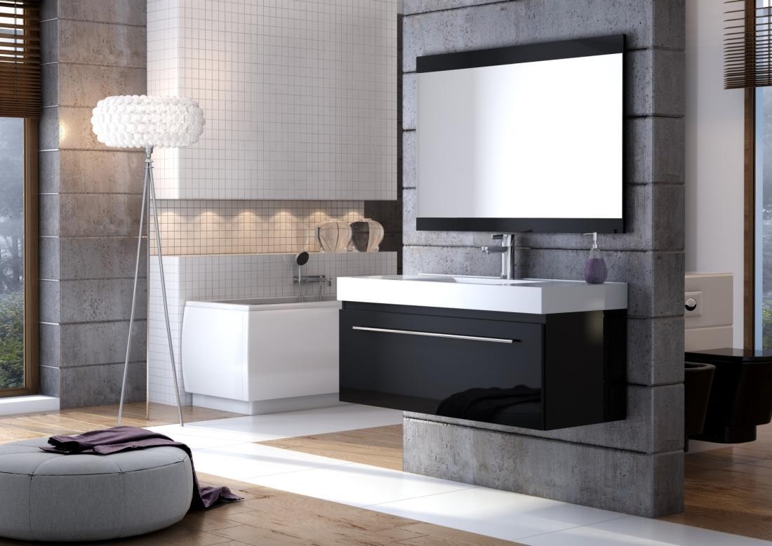 Łazienka w stylu Black & White
