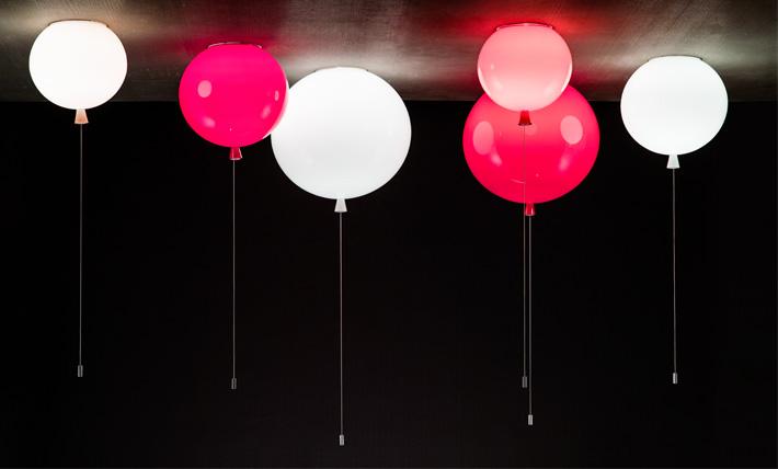 Lampa jak balonik