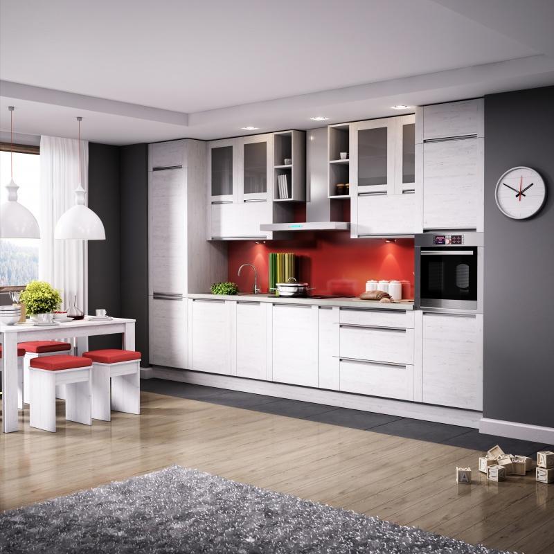 Modny Trend Kuchnia Na Jednej ścianie Wnętrze I Ogród