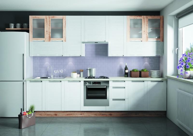 Modny trend: kuchnia na jednej ścianie