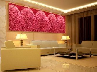 Naturalny mech Moss Trend® - ekologiczna dekoracja na ściany