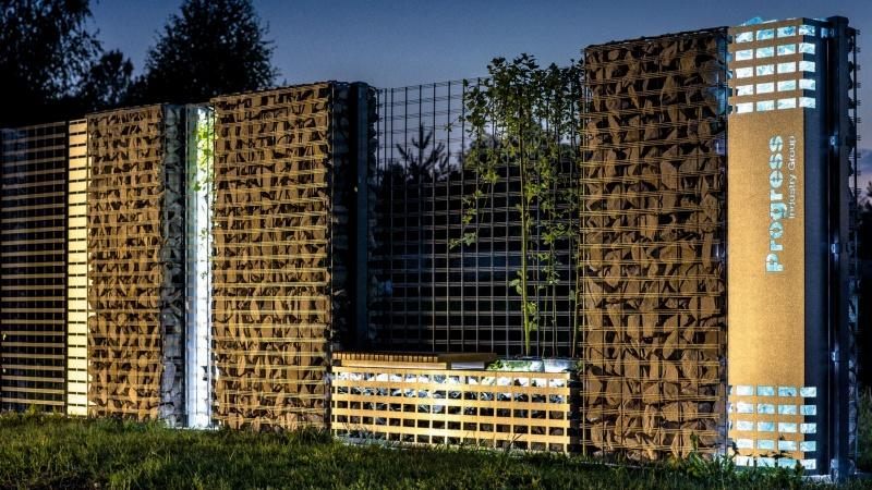 Niezawodny design - ogrodzenia gabionowe Progress