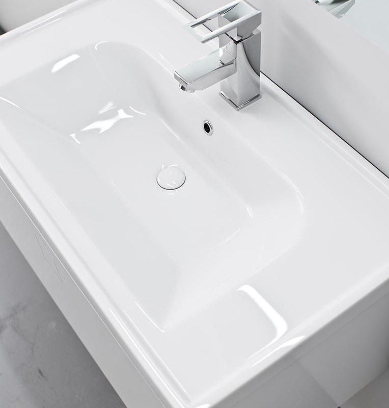 Kolekcja mebli łazienkowych NODO – umywalka FRAME