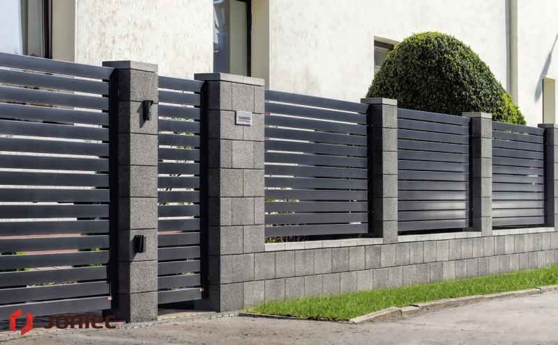 Nowoczesne ogrodzenia betonowe