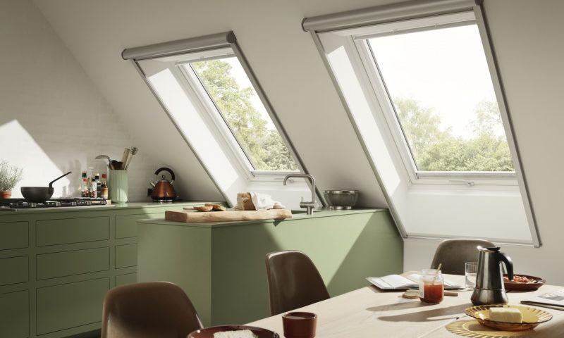 Okna drewniano-poliuretanowe VELUX