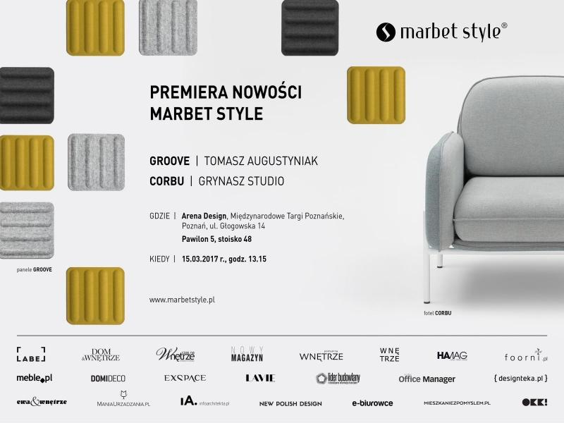 Premiery Marbet Style na Arena Design