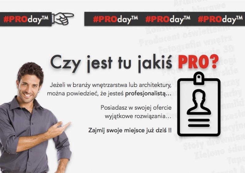 #PROday inspiruje branżę wnętrzarsko-architektoniczną