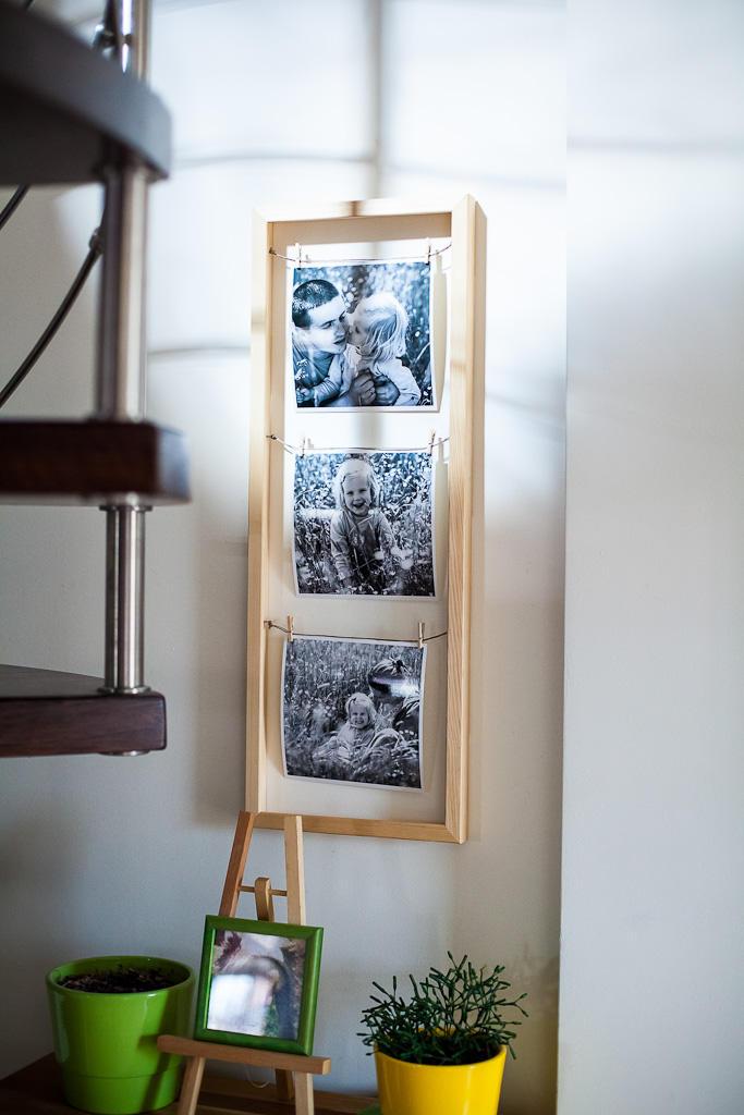 Ramka na zdjęcia DIY