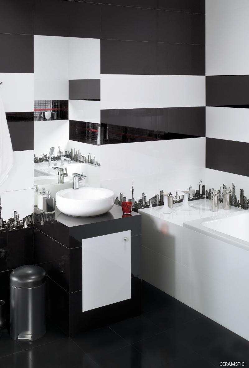 Ściana w łazience
