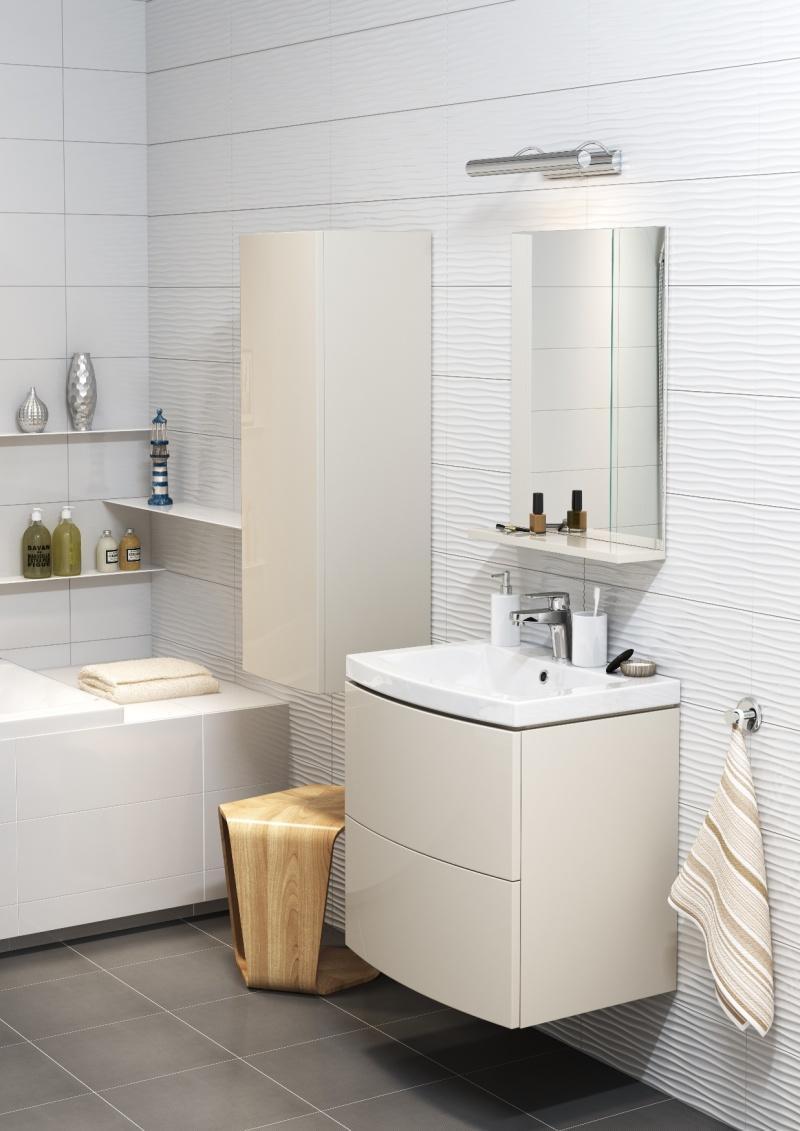 Sposób na idealnie czystą łazienkę. Ceramika i meble Cersanit Easy