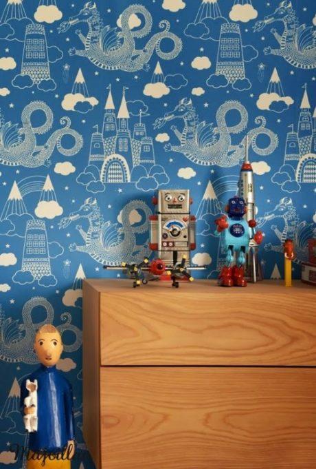 Tapety w pokoju dziecięcym. Czy mogą być ponadczasowe ?