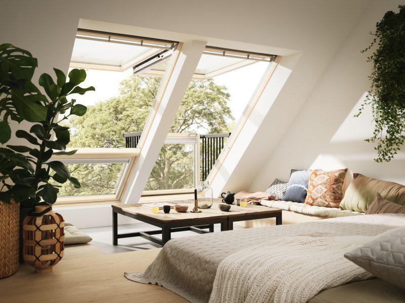 Balkon dachowy VELUX GDL Cabrio®