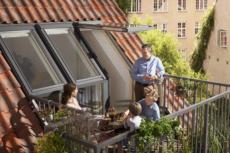 Okno balkonowe VELUX GEL